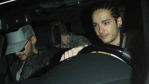 Bill und Tom Kaulitz gemeinsam im Auto.