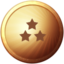 Action Ball 2 Topplayer Bronze